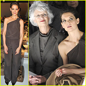Katie Holmes at Max Mara fashion show