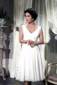 Elizabeth Taylor Cat on a Hot Tin Roof, 1958