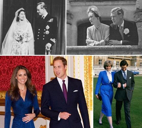 Royal wedding history