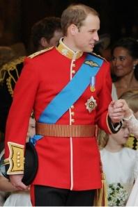 Prince William A uniform of Colonel of the Irish Guards