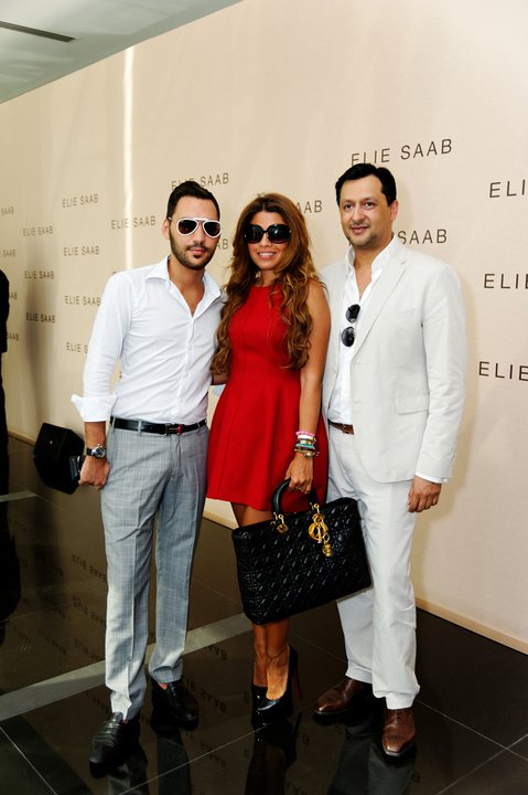 Elie Saab perfume Launching