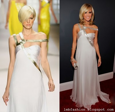 Carrie Underwood in Georges Chakra