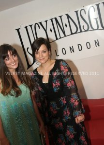 Lucy in Disguise with Lily Allen and Sarah Owen
