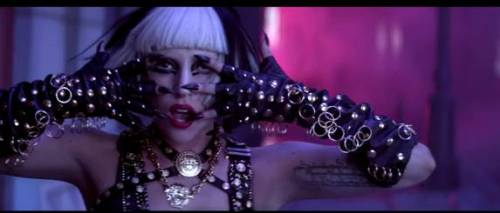 "LADY GAGA IN VINTAGE VERSACE  - ""EDGE OF GLORY"" VIDEO"
