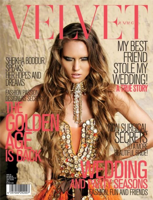 Velvet magazine issue 3 the cover