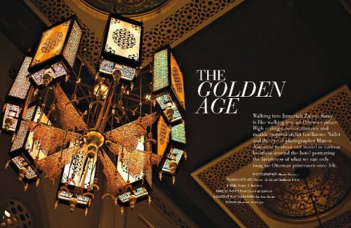 Velvet magazine issue 3 - The Golden Age -