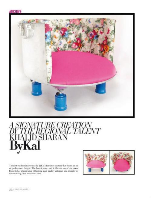 ARCHIVE A Signature Creation by Khalid Sharan ByKal Velvet magazine issue 3