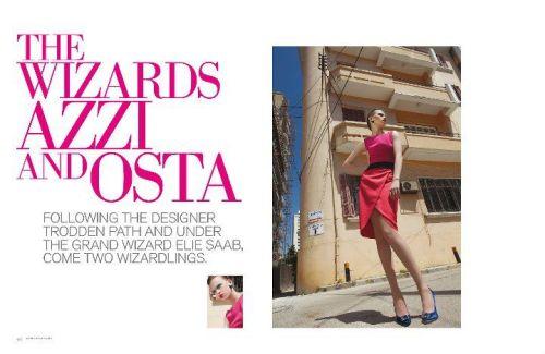 velvet magazine issue 3/ AZZI & OSTA Exclusive interview