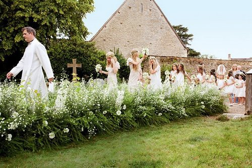 Kate Moss Beautiful Wedding