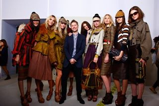 Burberry Spring Summer 2012 1st Look