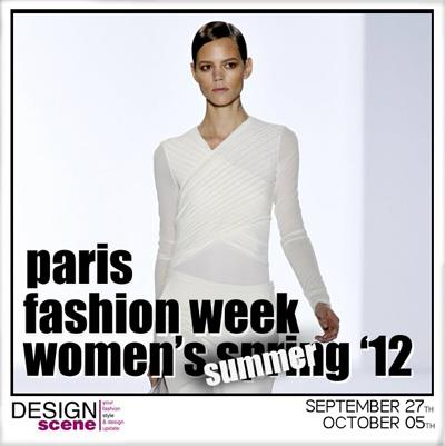 Paris Fashion Week SS12