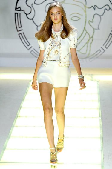 Versace Womenswear Spring Summer 2012 Collection