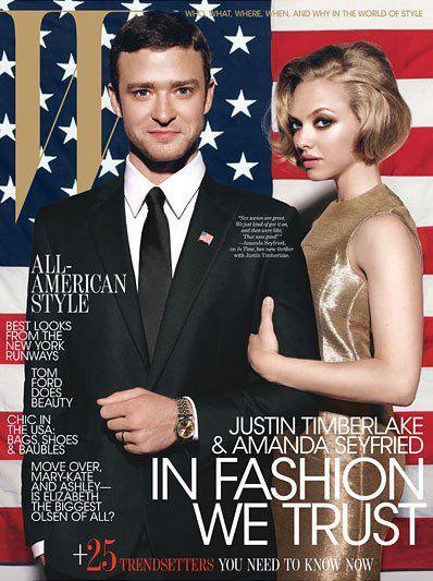 Justin Timberlake & Amanda Seyfried by Michael Thompson