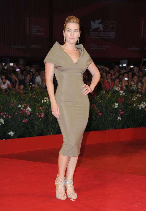 Kate Winslet Looking so Elegant at the 'Carnage' premiere at the 68th Venice International Film Festival while wearing Jimmy Choo 'Viola'