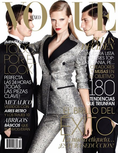 Julia Stegner, Julian Schratter & Ryan Kennedy for Vogue Mexico October 2011