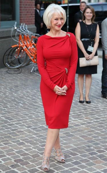 """Helen Mirren  @ """"The Debt""""  premiere"""