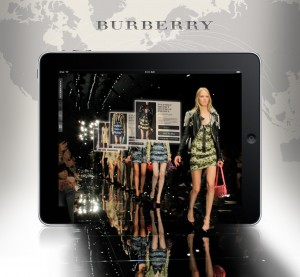Burberry runway to over 150 countries