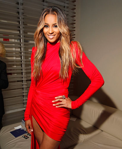 Ciara is Red Hot at Fashion's Night Out