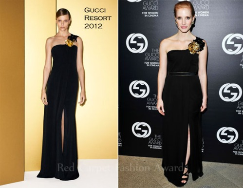 Jessica Chastain @ the Gucci award