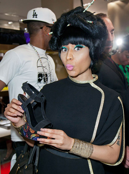 Fashion Icon Nicki Minaj at Fashion's Night Out