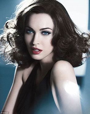 Megan Fox Channeling the 1930s in Breath-Taking New Armani Ads